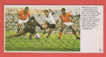 West Germany v Morocco Muller 1970 World Cup